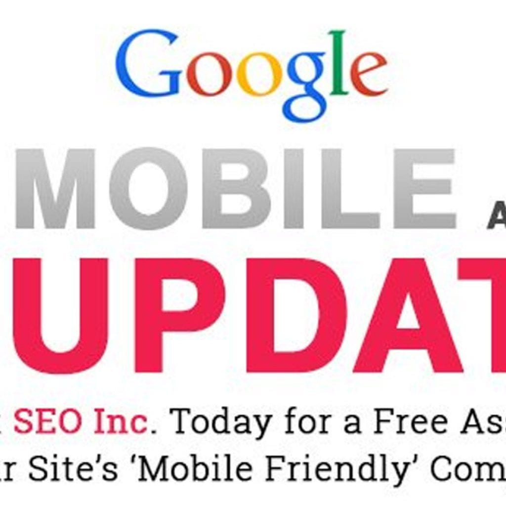 The Google mobile update is going to be bigger than panda or penguin.